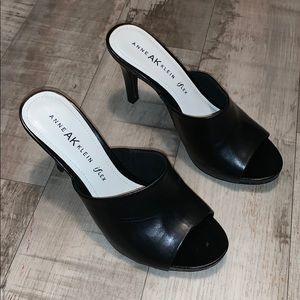 Anne Klein iFlex Peep Toe Heels Size 7
